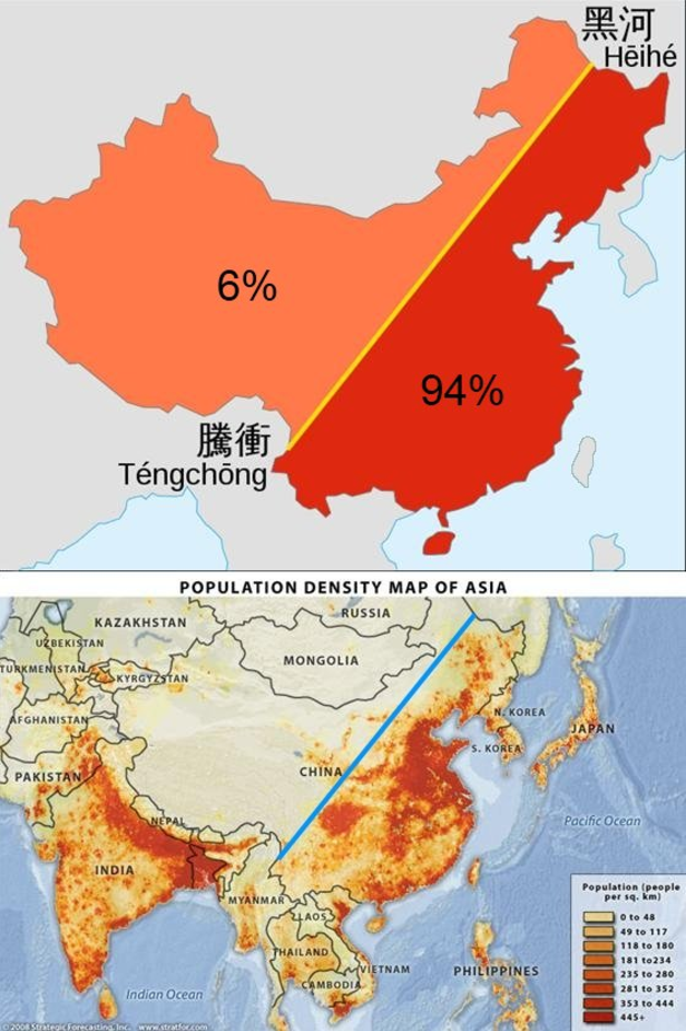 China's Population Density | map_∞